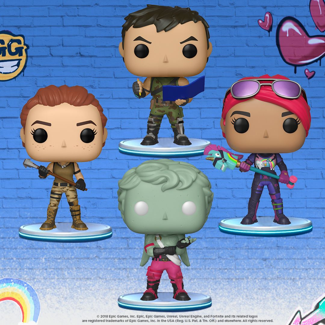 Official Fortnite Funko Pops Collect Them All Spirithalloween