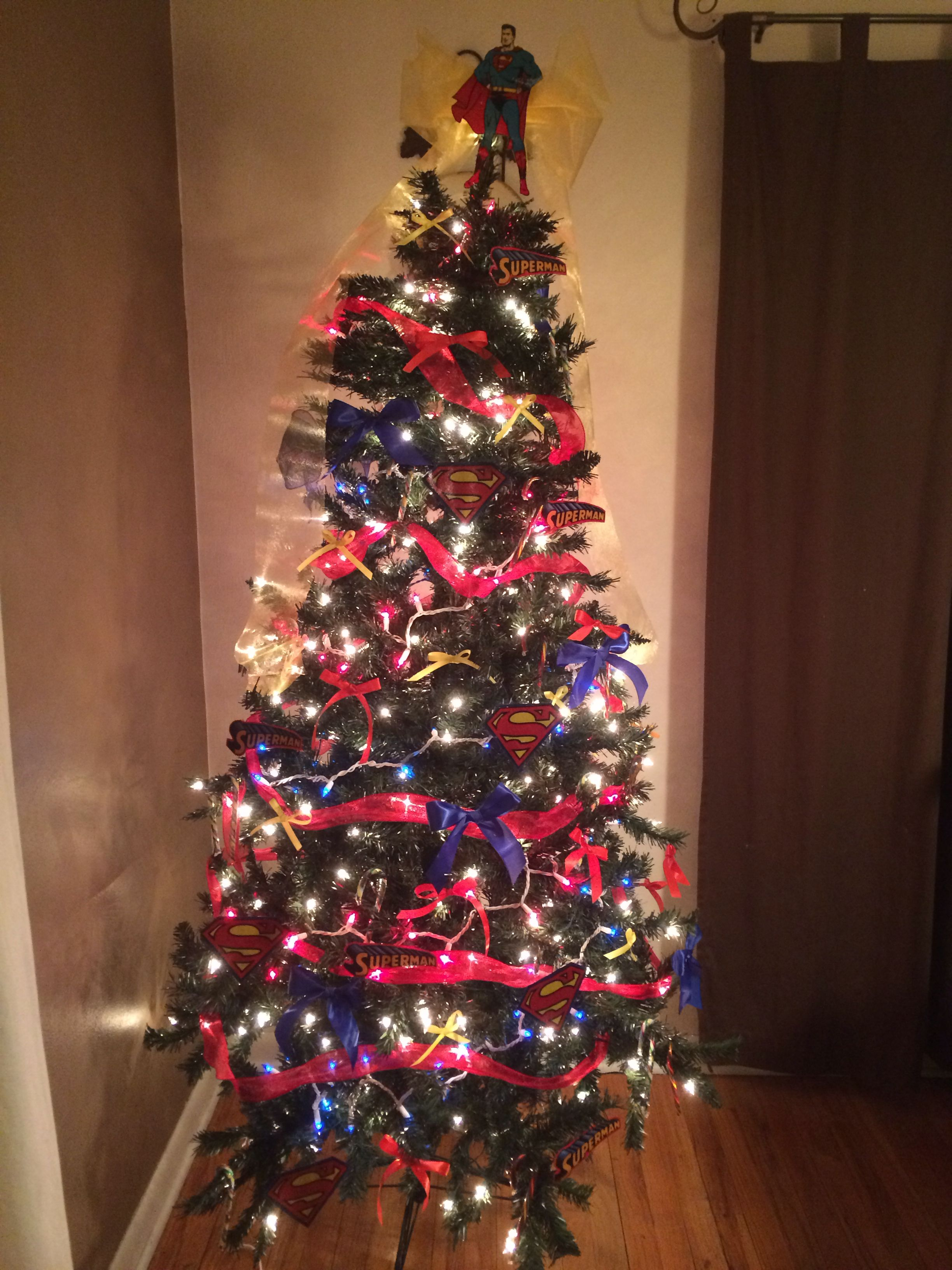 Cool Christmas Trees.My Superman Tree Superman Everything Christmas