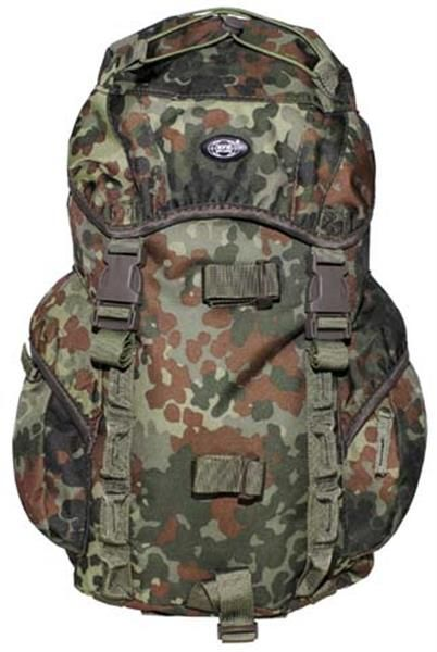 1bc5a1798 The Recon 1 Backpack is a great quality European Military Surplus item in  German Flecktarn Camo. Perfect for Hunting, Camping, Paintball, ...
