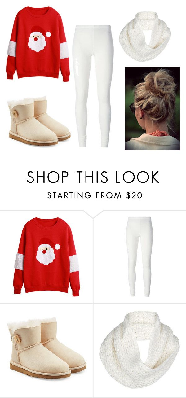 """""""Untitled #30"""" by natacharizk on Polyvore featuring Rick Owens Lilies and UGG Australia"""