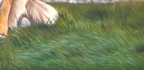 Dessin Et Peinture Video 1856 Comment Peindre L Herbe Aux
