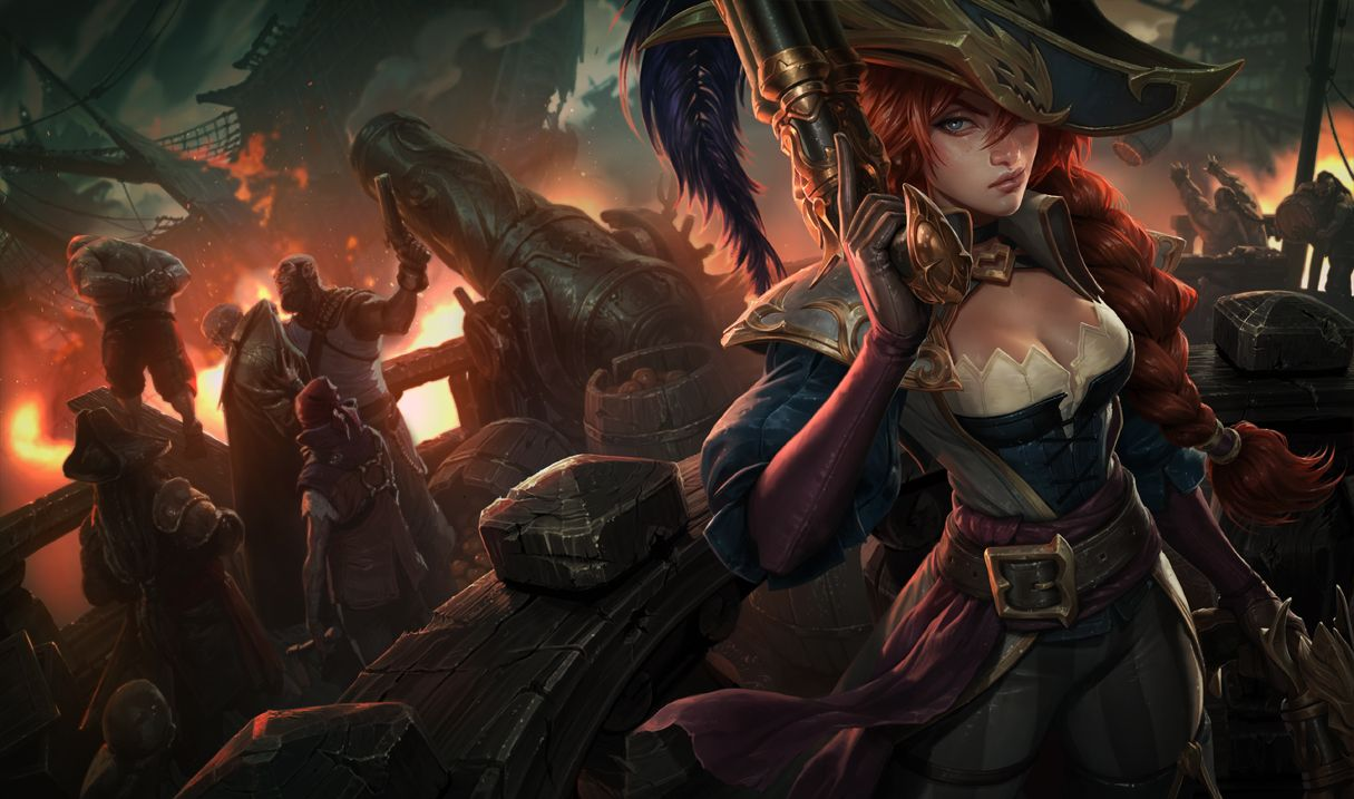 Miss Fortune League Of Legends Miss Fortune Lol Champions