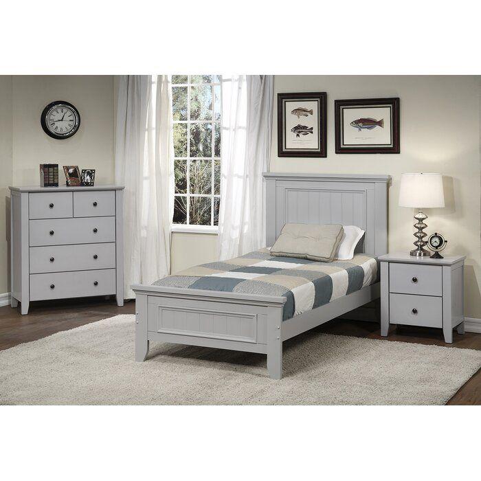 Harriet Bee Cutshaw Platform Configurable Bedroom Set Wayfair With Images Bedroom Set Wooden Platform Bed Adjustable Bed Frame