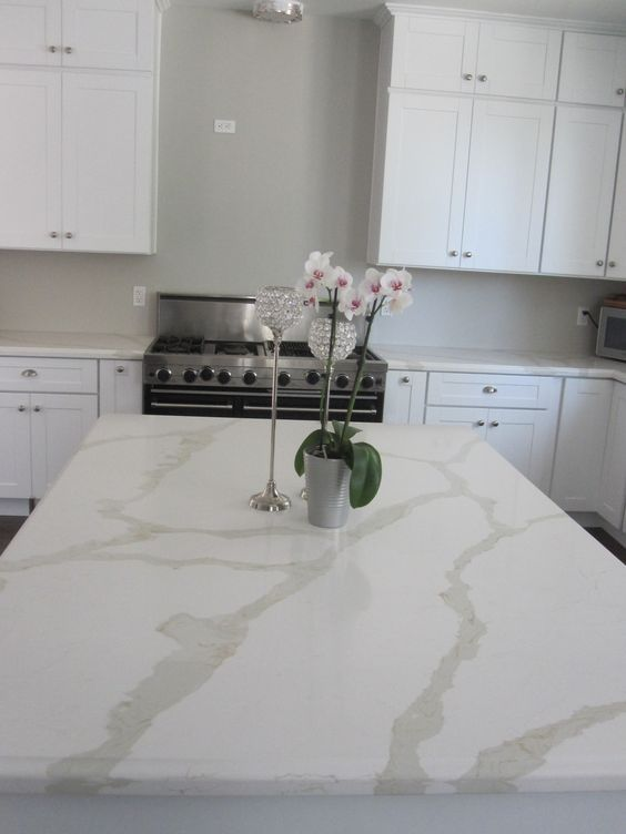 Image result for dupont zodiaq calacatta quartz | Kitchen remodel ...
