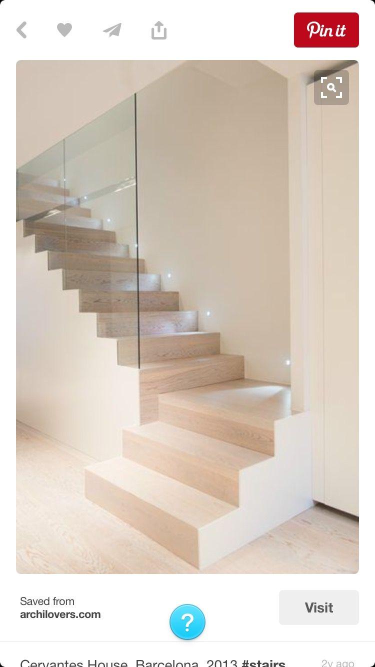 Barandillas Escaleras Interiores. Simple Top Barandillas De Madera Y ...
