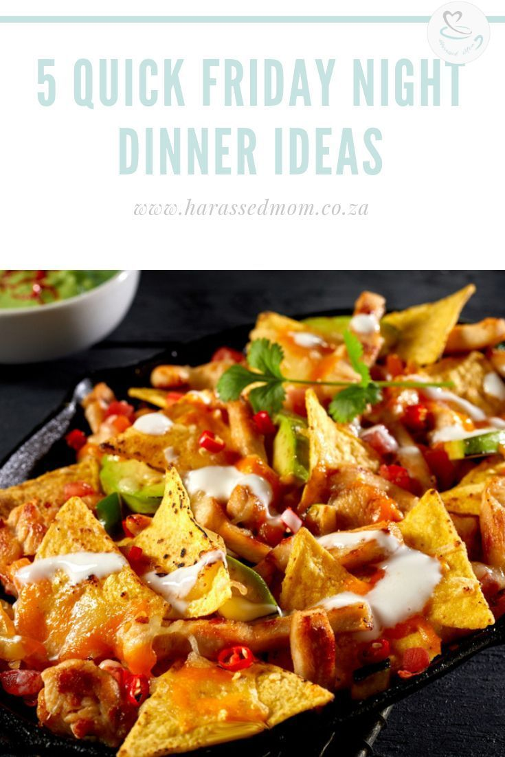 5 Quick Friday Night Dinners images