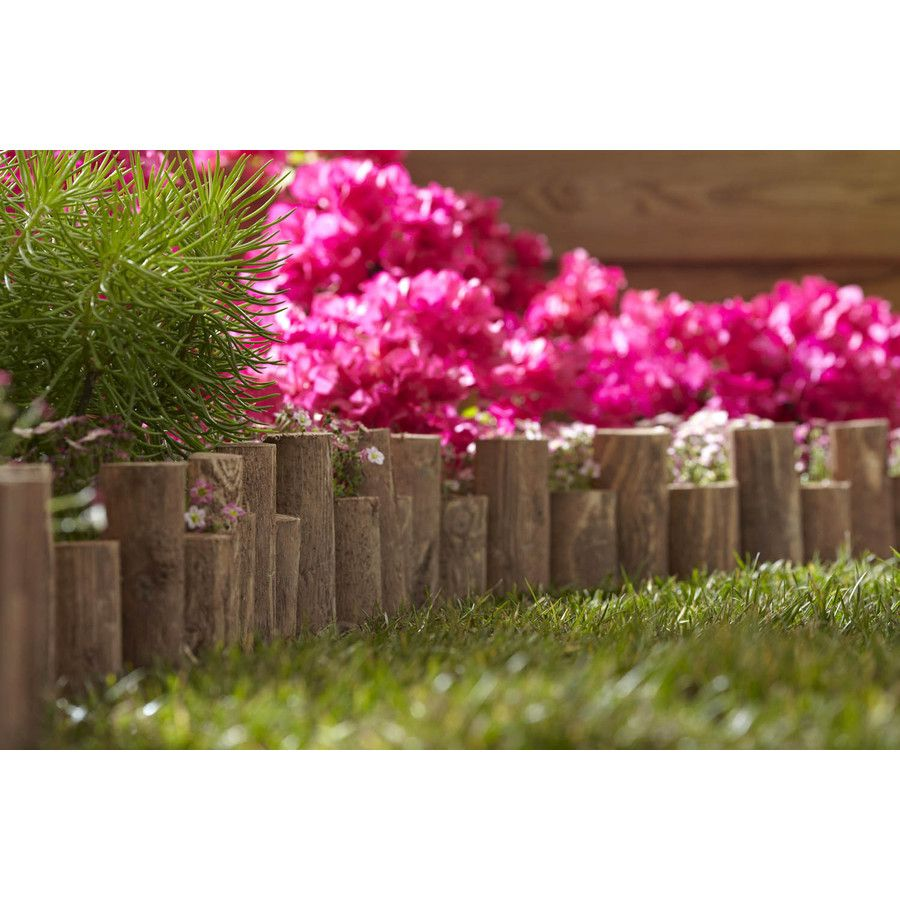 Shop Greenes Cedar Stain Landscape Edging Section at Lowes