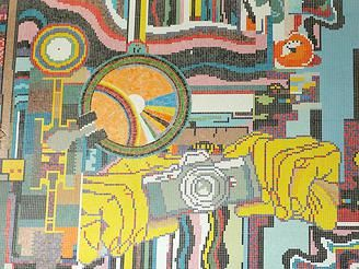 Visuale | Art | Photography | Magazine | Birmingham | Visuale | Art: The Paolozzi Mosaics