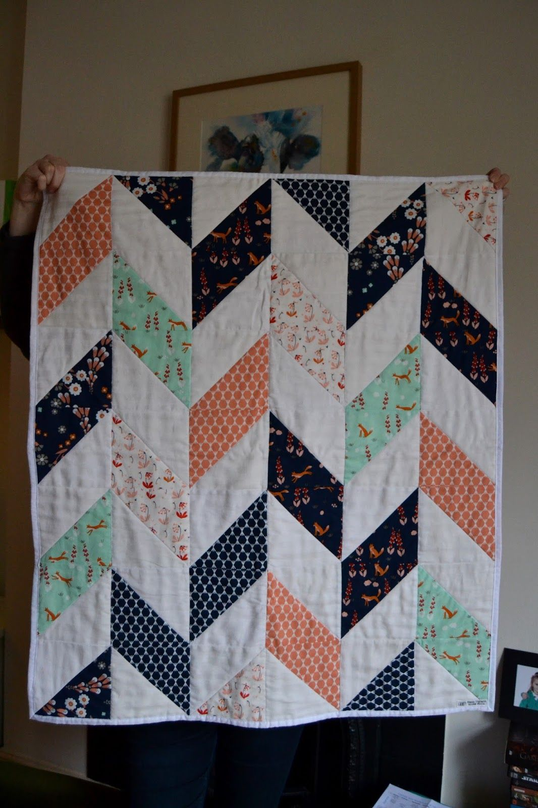 Some of our dearest friends were expecting their baby girl in early January, and I knew I wanted to make them a lovely quilt as a gift. I r...