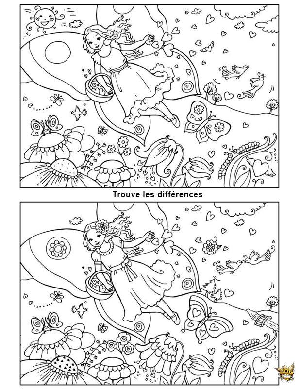 Pingl par carolann st amand sur cherche et trouve dessins pinterest jeux des 7 erreurs - Jeux imprimer adulte ...