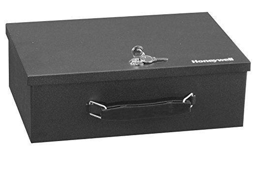 Honeywell 6104 Fire Resistant Steel Security Box