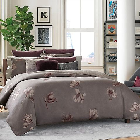 Kenneth Cole Reaction Home Night Floral Comforter