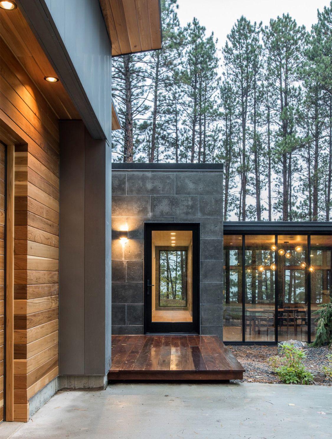 Idee Fassade Modernes Haus - linearsystem.co - Home Design Ideen und ...