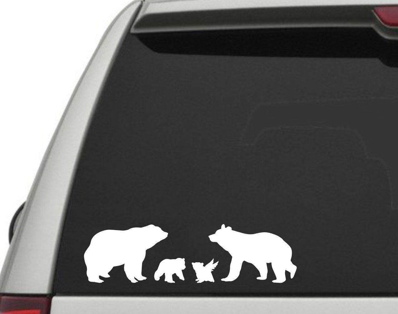 Memorial Bear Family Angel Baby Dad Mom Bear Stick Figure Etsy Family Decals Family Car Decals Car Decals [ 1003 x 1274 Pixel ]