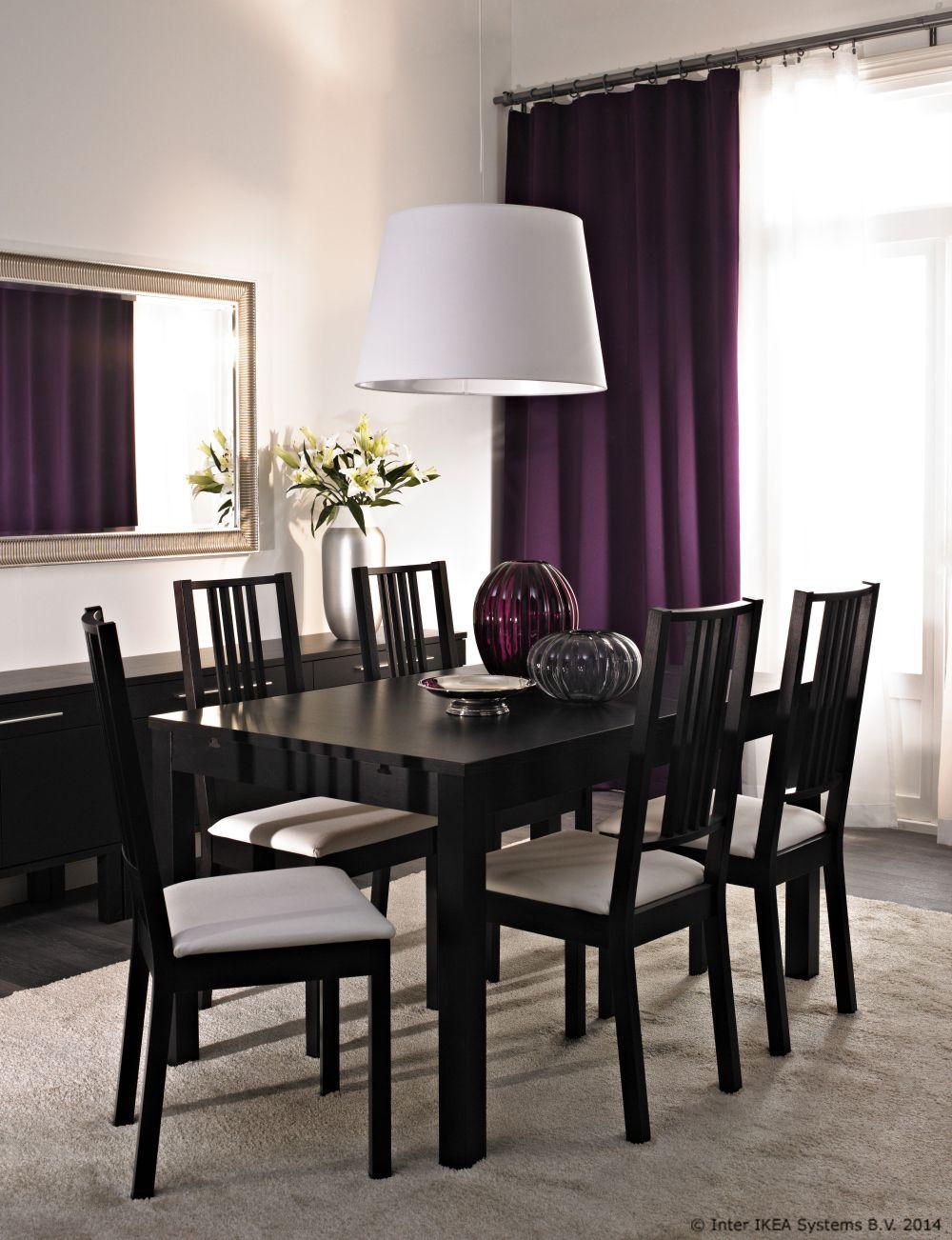 Neke granice zapravo ne postoje. Proširi stol iz blagovaonice u dnevnu sobu i bit će mjesta za sve. www.IKEA.hr/BJURSTA
