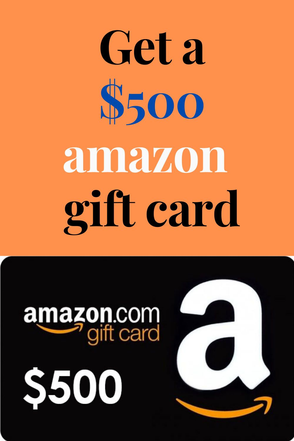 Photo of Get a $500 amazon  gift card