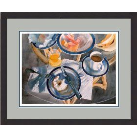 http://flameofhope.info/Murphy - Bagel at the Beach, framed giclee print of watercolor by Susan Avis Murphy