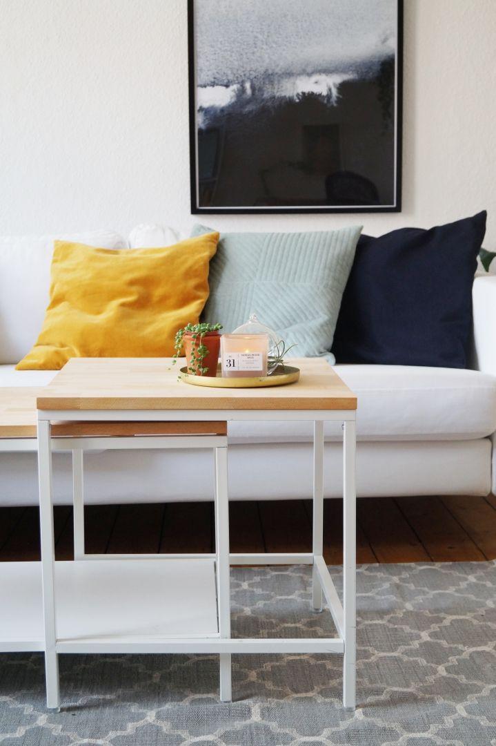 Mit Diesem IKEA Hack Deinen Ikea VITTSJÖ Couchtisch Einfach Und Schnell  Aufwerten Für Ein Minimalistisches, Skandinavisches Zuhause!