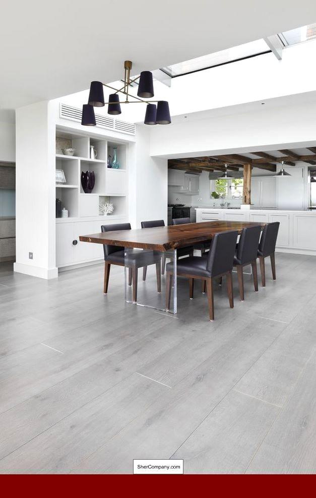 Wooden Floor Interior Ideas, Grey Laminate Flooring Room ...