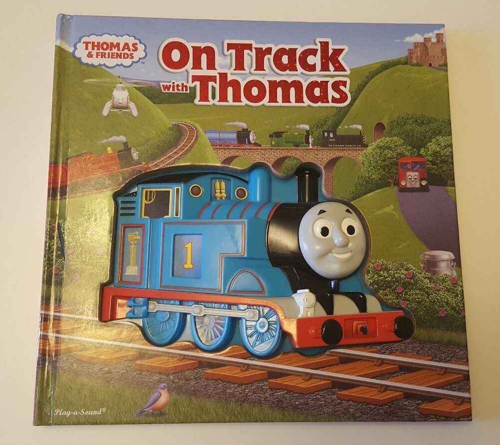 Thomas And Friends On Track With Thomas Electronic Play a Sound Book/Train/Clock in Toys & Games, TV & Film Character Toys, TV Characters | eBay!