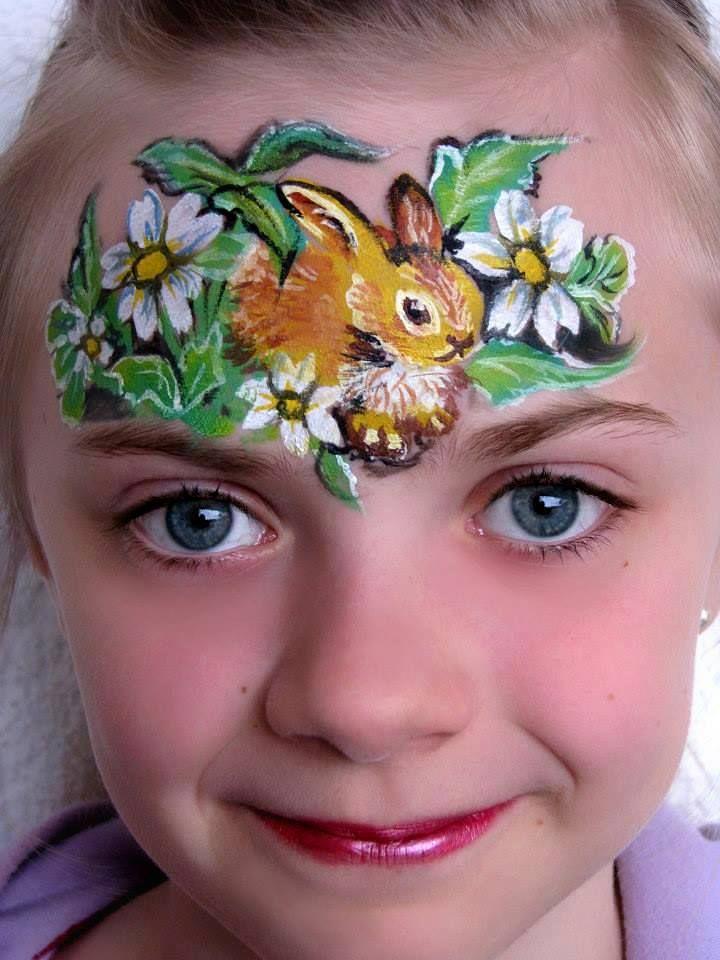 Bunny rabbit on forehead alla bechler illusion spring
