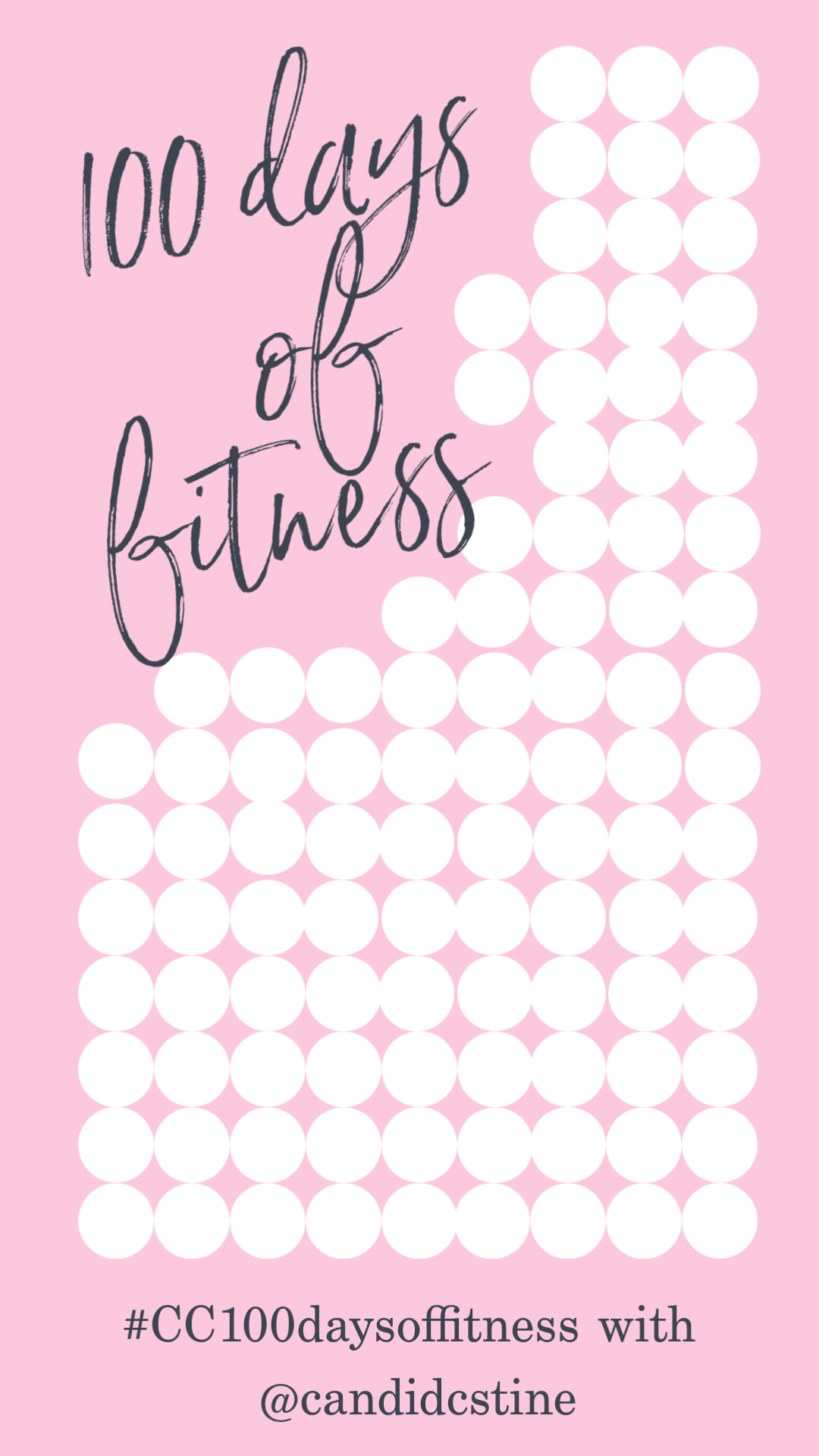 100 Days Of Fitness Challenge In