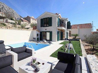 Makarska, Kroatien Haus kroatien, Ferienhaus mit pool