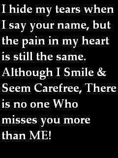Nobody Misses You More Than Me Mom Pinterest Quotes Miss