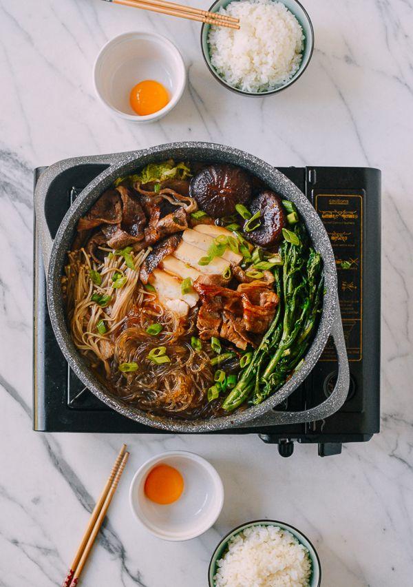 Sukiyaki A Japanese One Pot Meal Recipe Sukiyaki Recipe