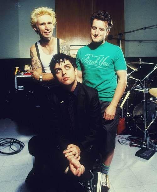 Billie, Mike, and Tré.