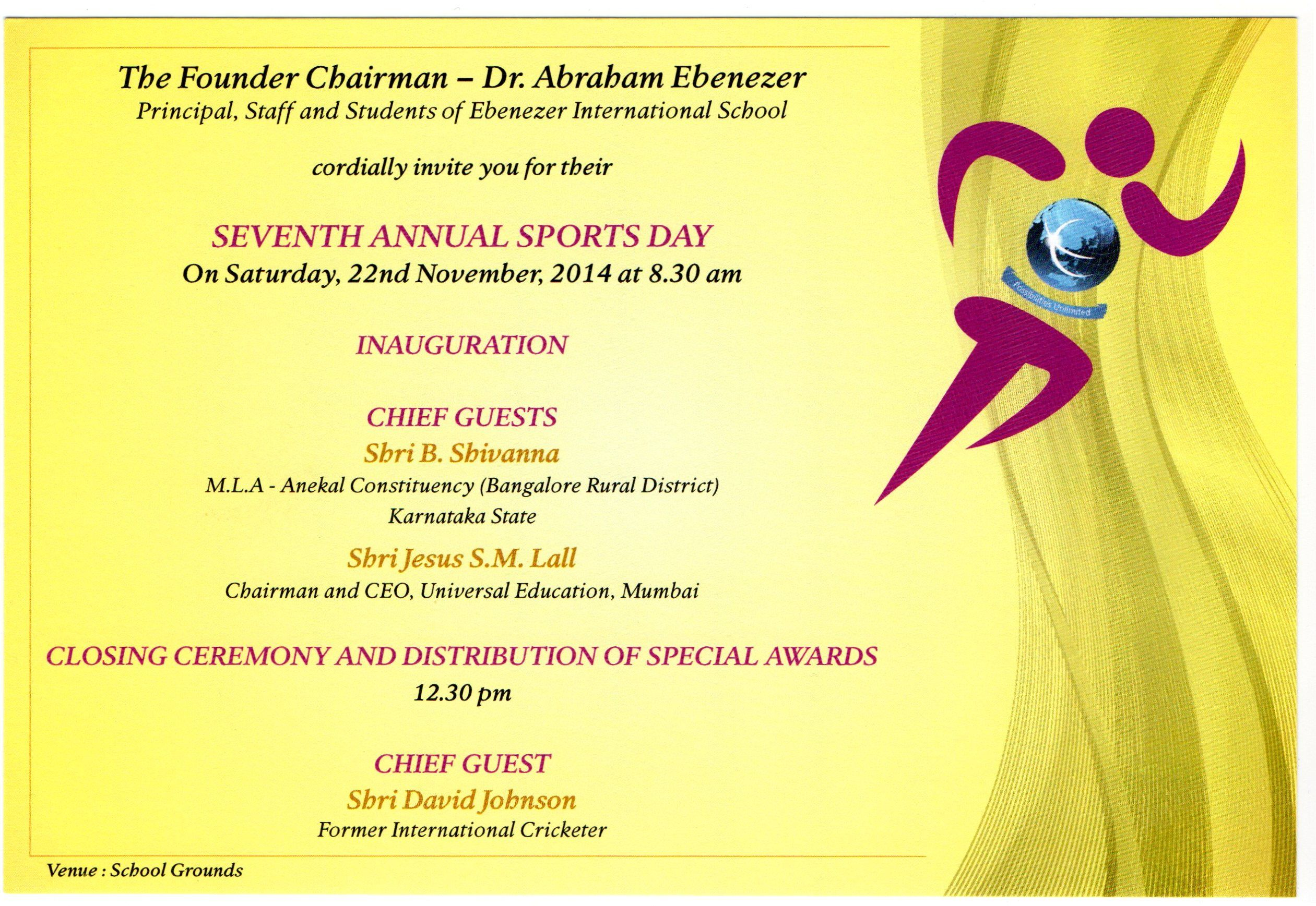 Image Result For Parent Invitation To Sport Sports Day