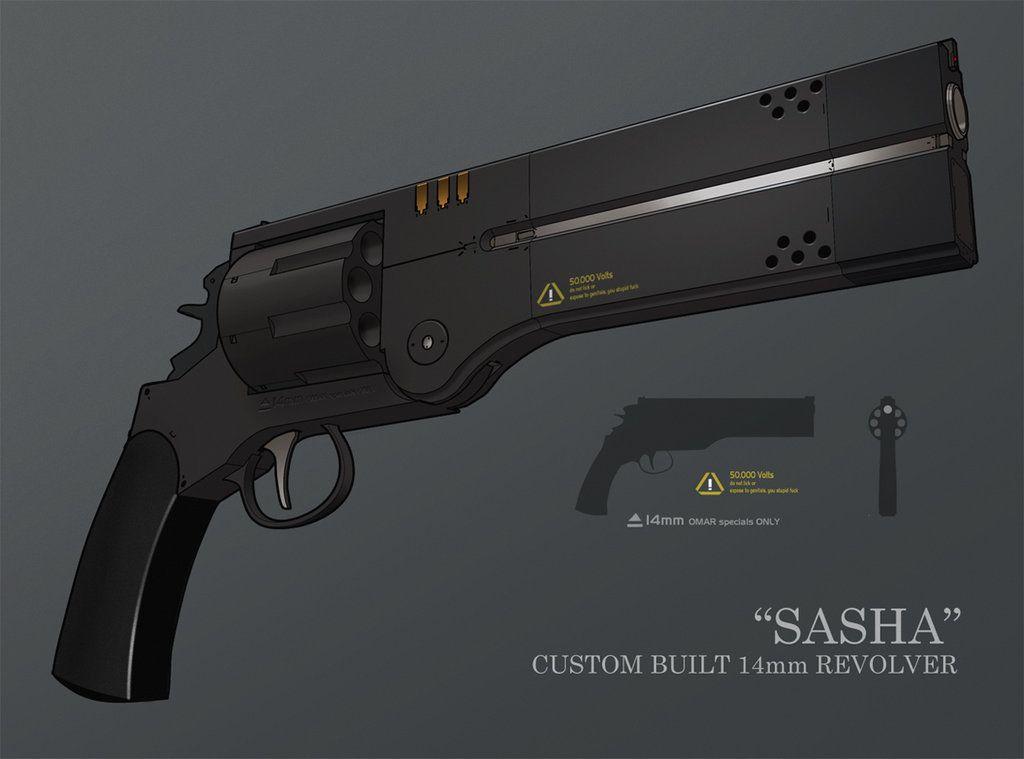 Sasha 14mm Custom Hybrid revolver by IgnusDei on DeviantArt