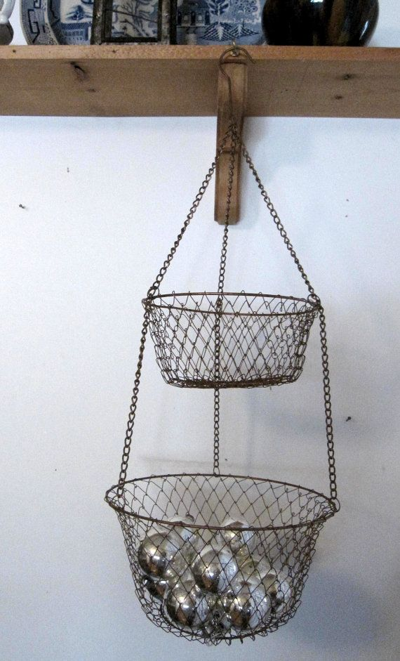 Hanging Kitchen Basket Paint The Two We Have They 39 Re Ugly Too Ship Shape Pinterest