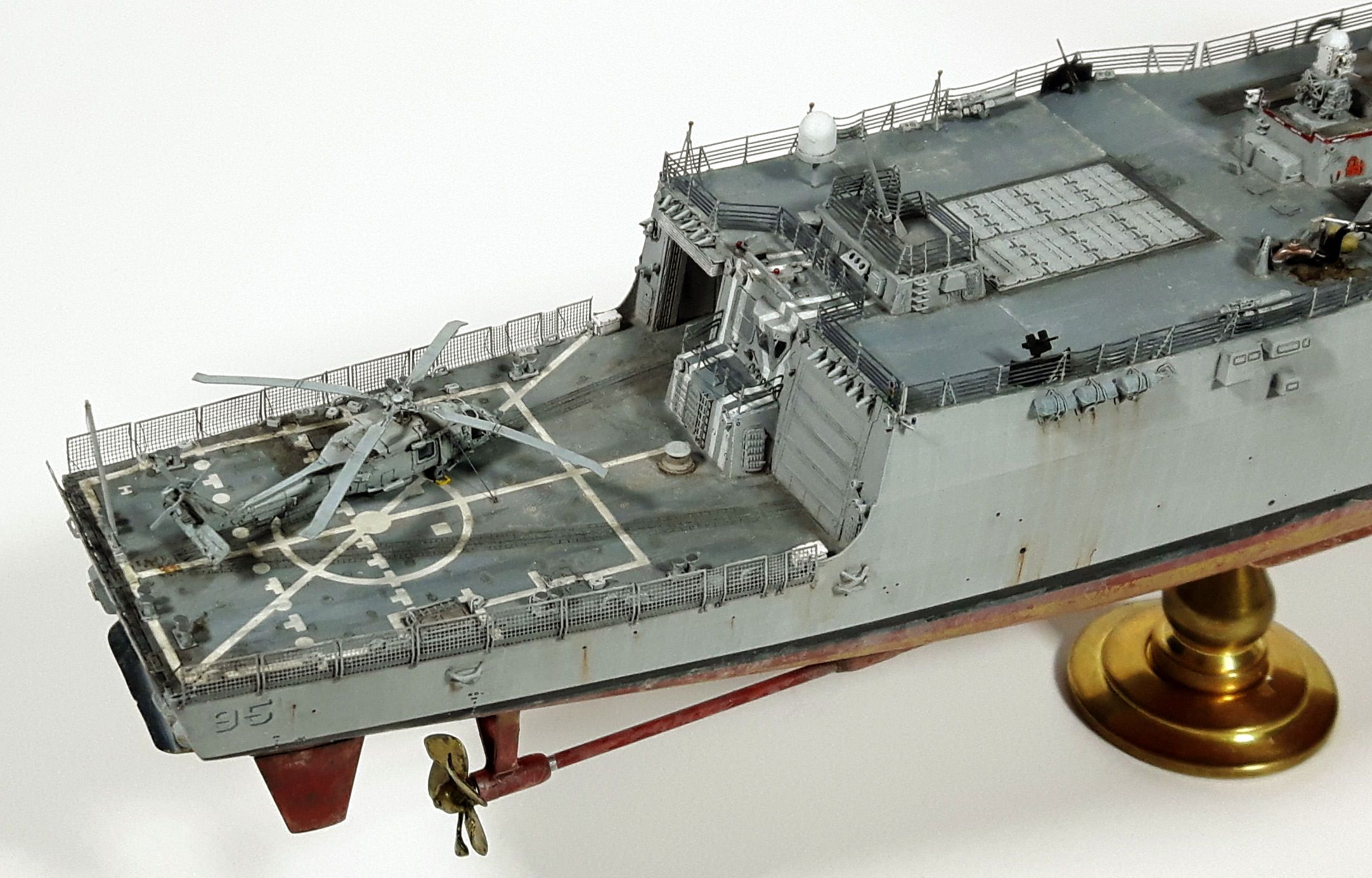 Trumpeter 1 350 Uss James E Williams Ddg 95 Flight Deck Warship