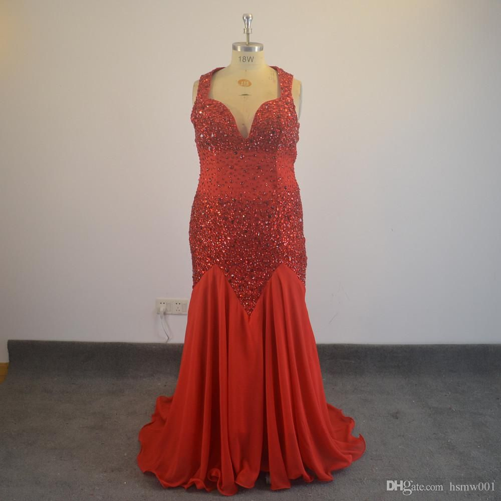 Red satin long sleeve evening dress off shoulder ball gown lace