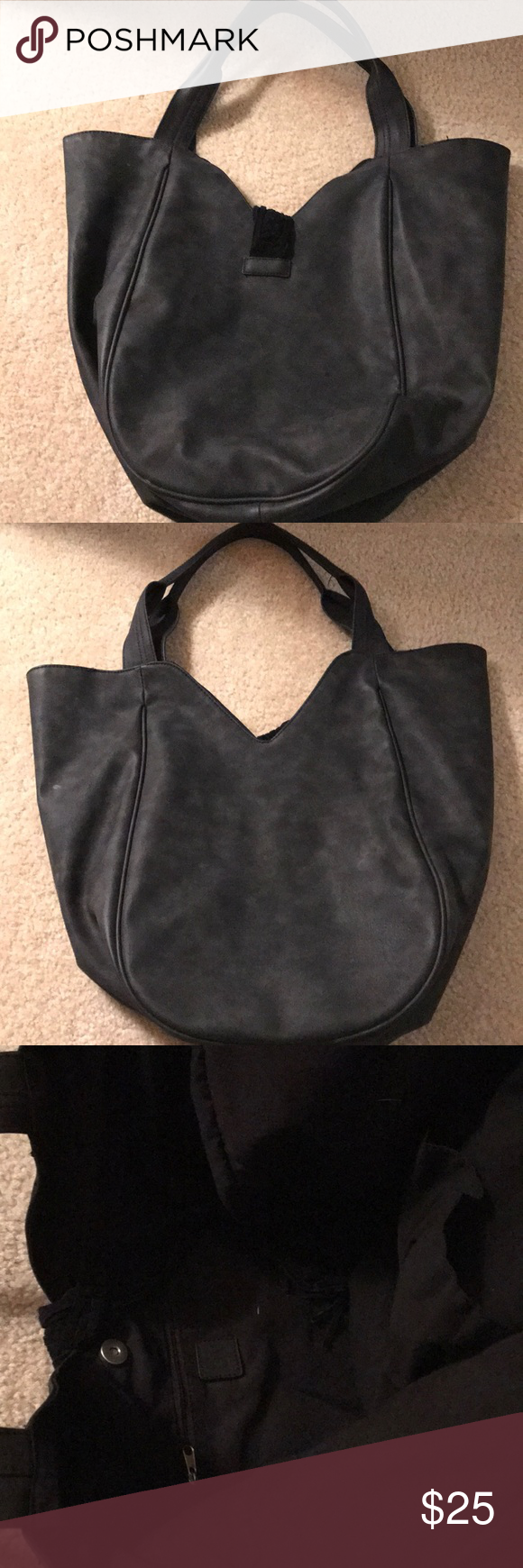 425c2f58bced9b Dolce Vita DV tote bag Target in black Large DV tote bag New and never used  in black! I bought the wrong color! One zippered pocket on inside and 2  pockets ...