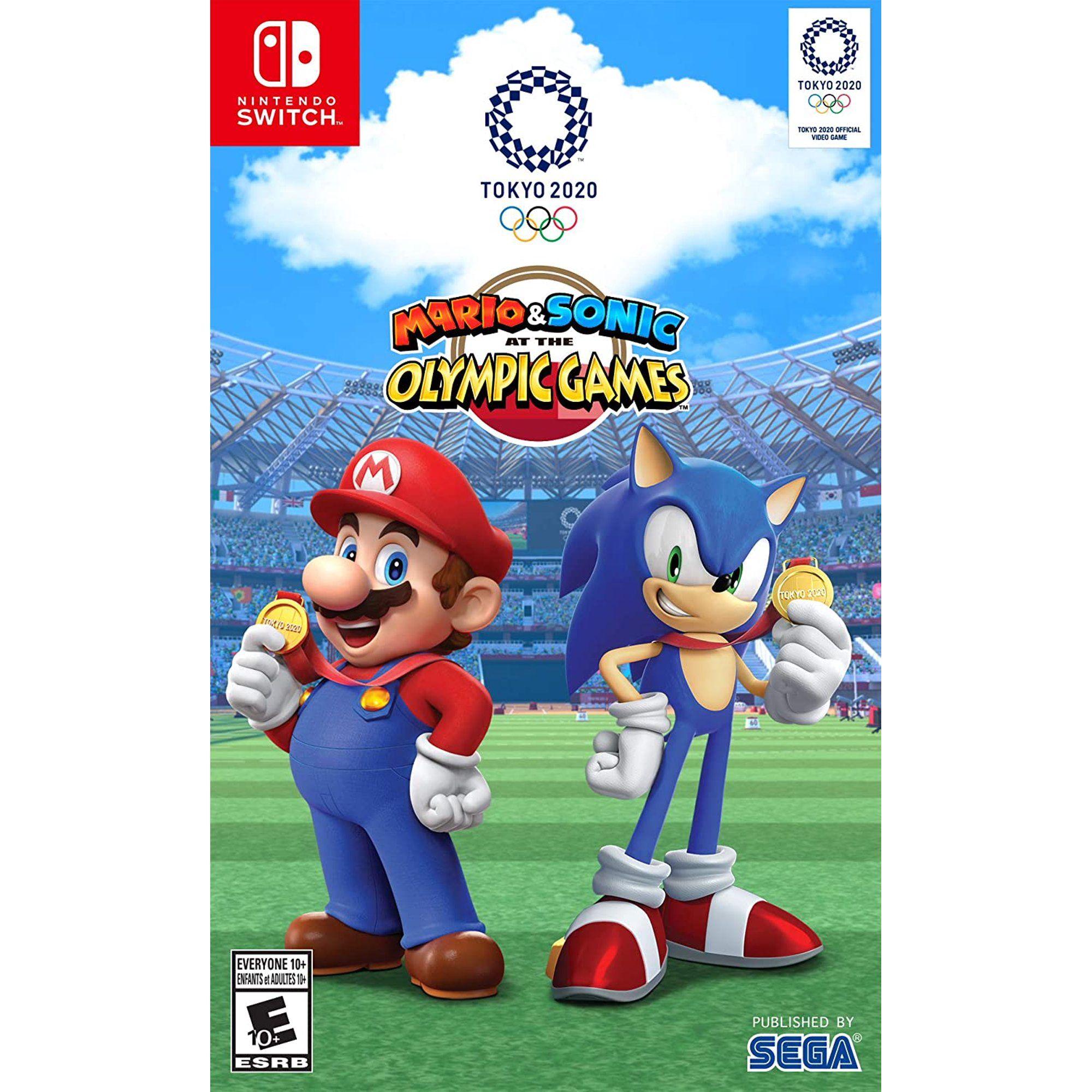 Mario Sonic At The Olympic Games Tokyo 2020 Sega Nintendo Switch 010086770094 Walmart Com In 2021 Nintendo Switch Games Mario Tokyo 2020