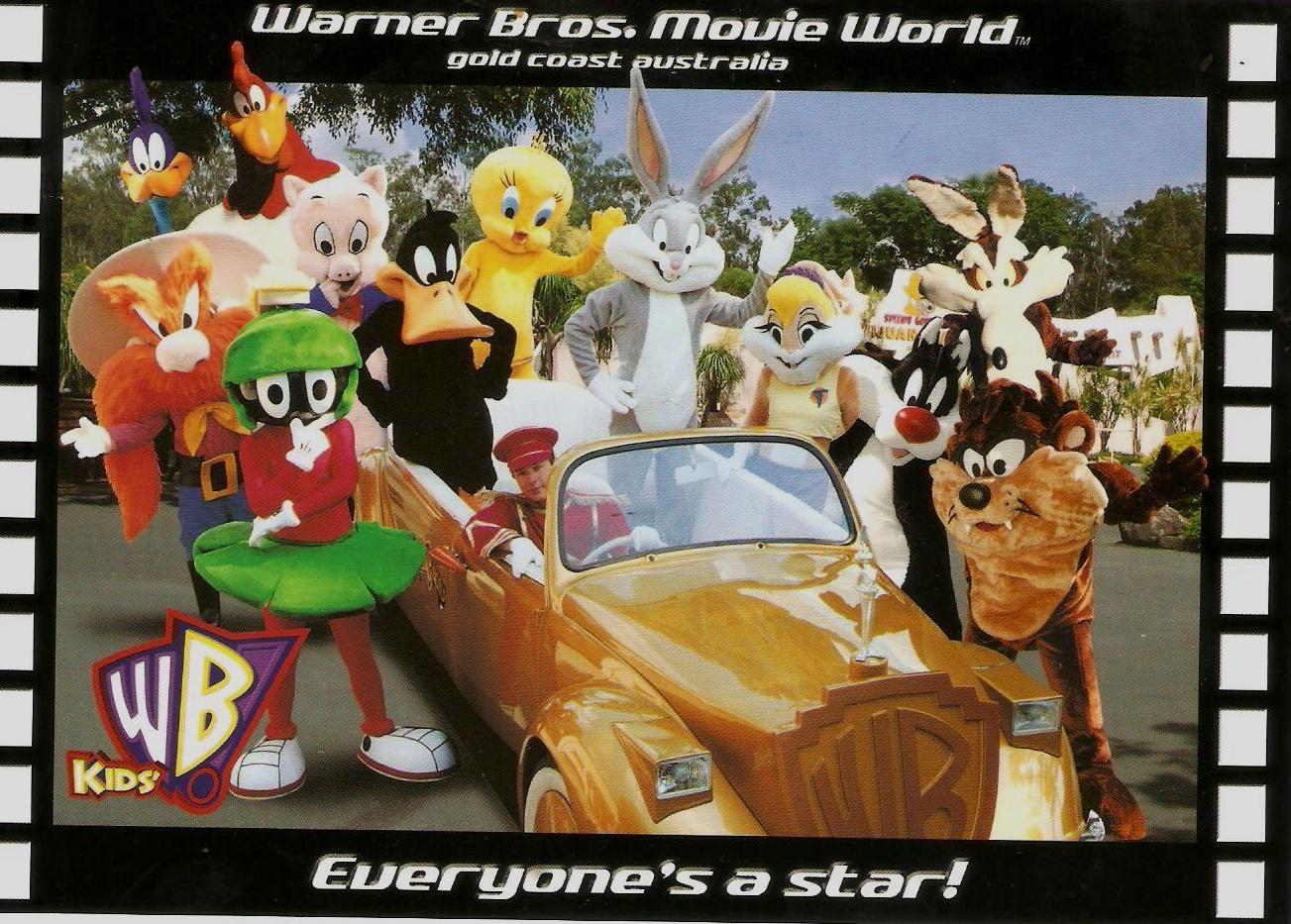 WB Kids at Warner Brothers Movie World theme park Theme