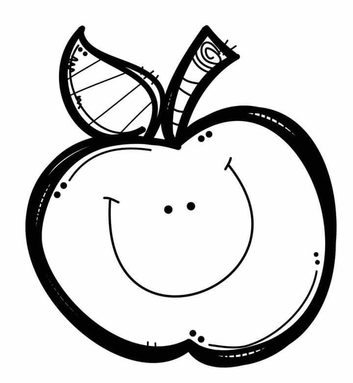 Manzana   imágenes   Pinterest   Colorear, Dibujo y Preescolar