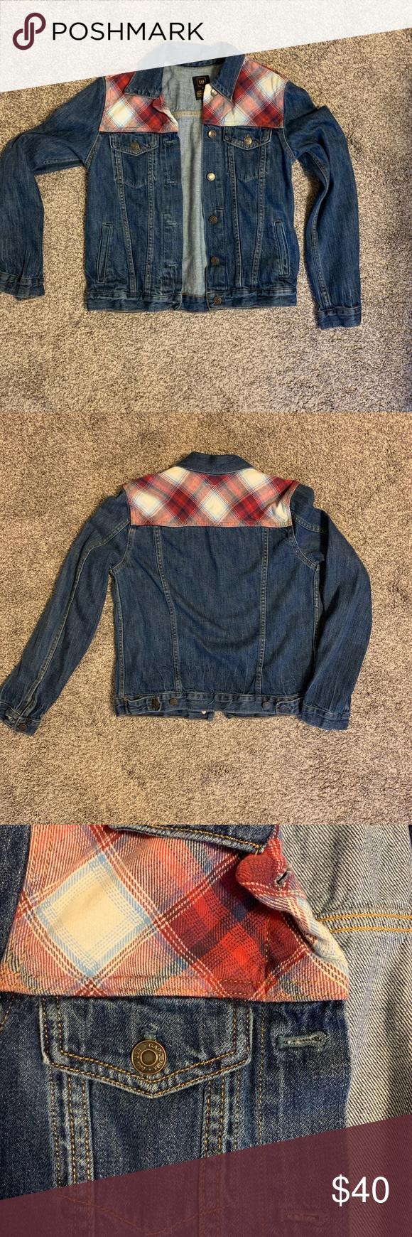 Gap Pendleton Denim Jacket With Flannel Denim Jacket Pendleton Jackets [ 1740 x 580 Pixel ]