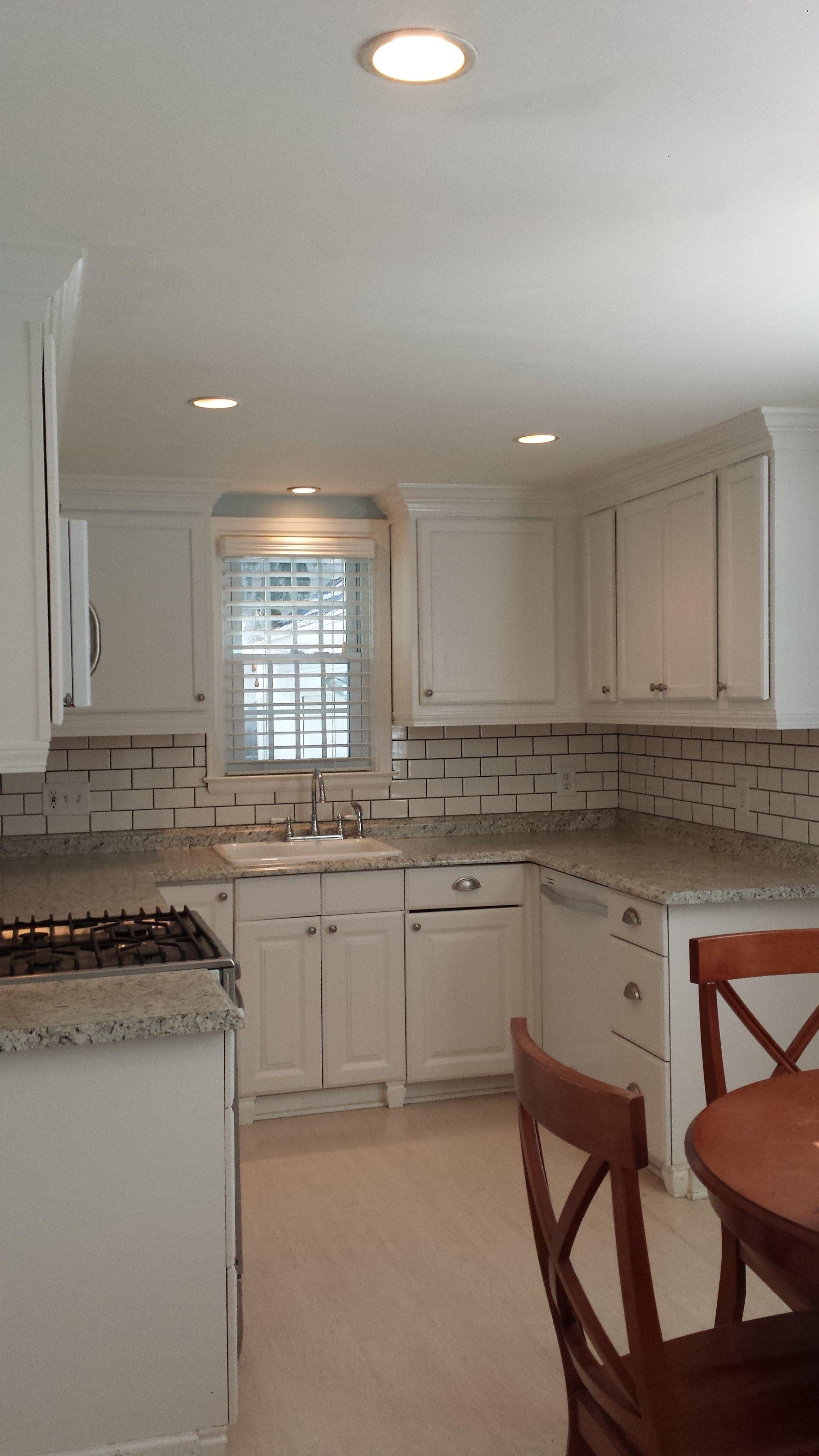 Best Phase 3 Of Kitchen Renovation Upper Cabinets Installed 400 x 300
