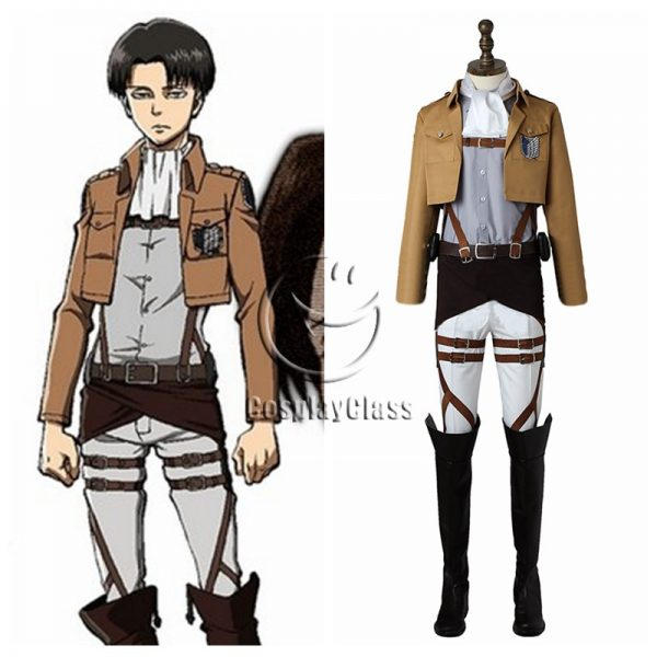Attack On Titan Levi Ackerman Cosplay Costume Cosplayclass Attack On Titan Costume Levi Ackerman Levi Cosplay