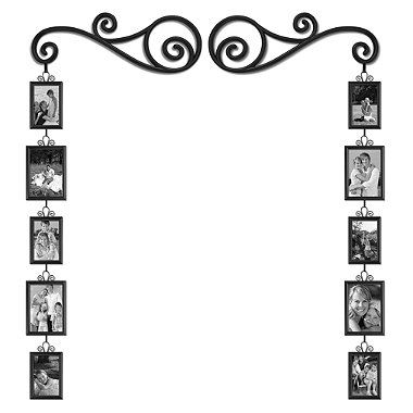 Frame And Scroll 12 Piece Set