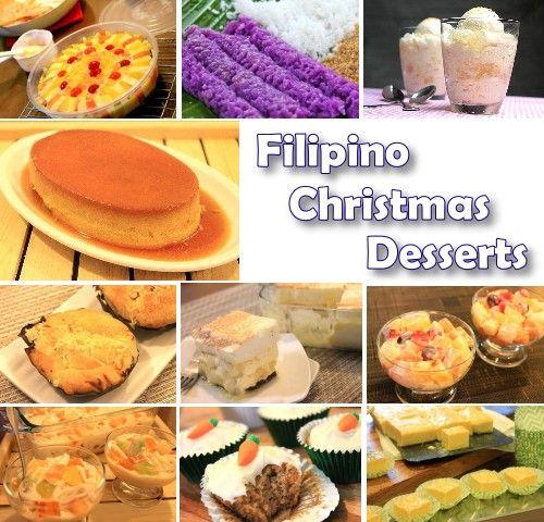 Filipino Christmas Desserts Christmas Food Desserts Dessert Recipes Christmas Desserts