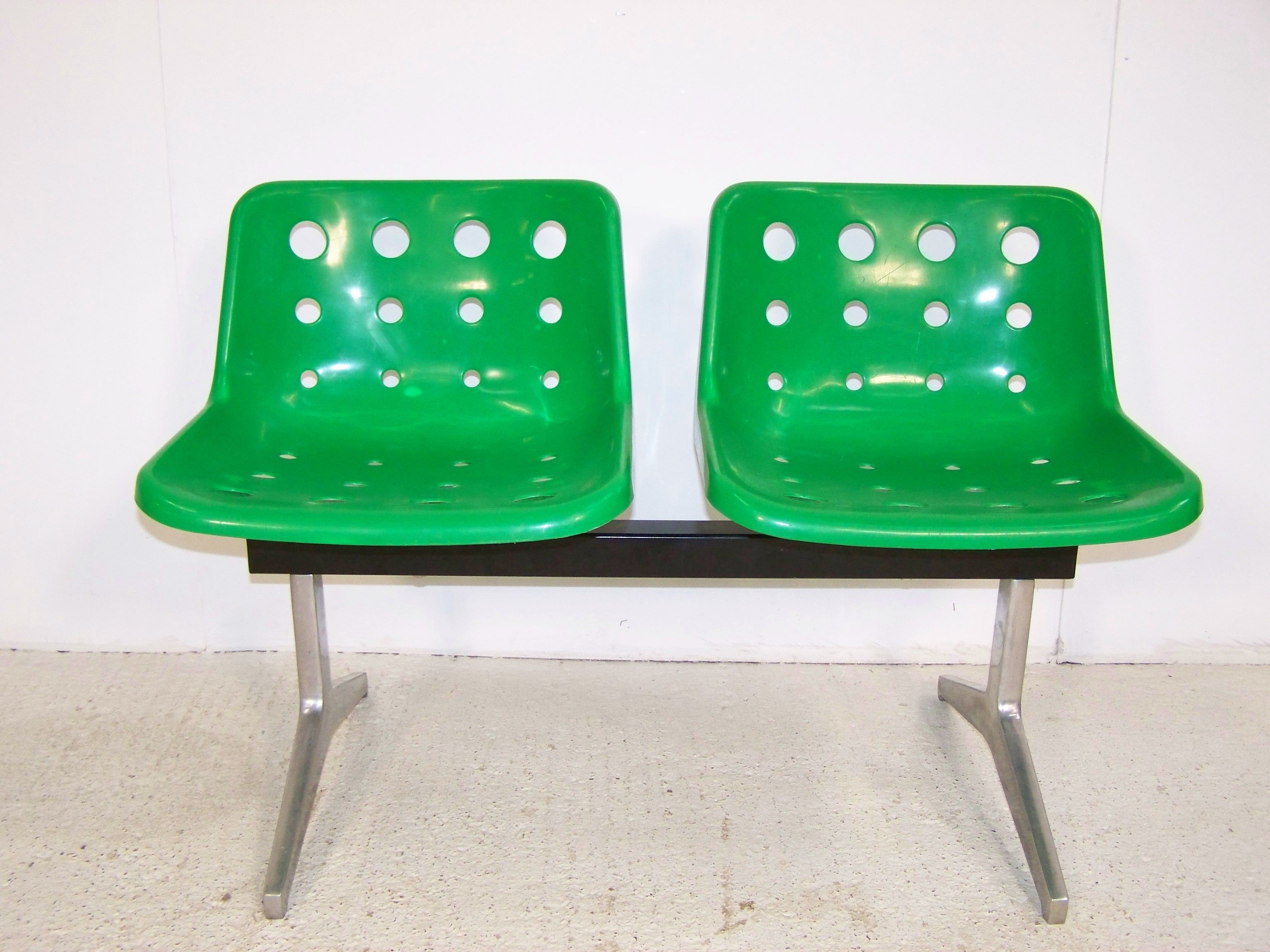 "Vintage retro Robin day Hille ""Polo "" Airport waiting room office"