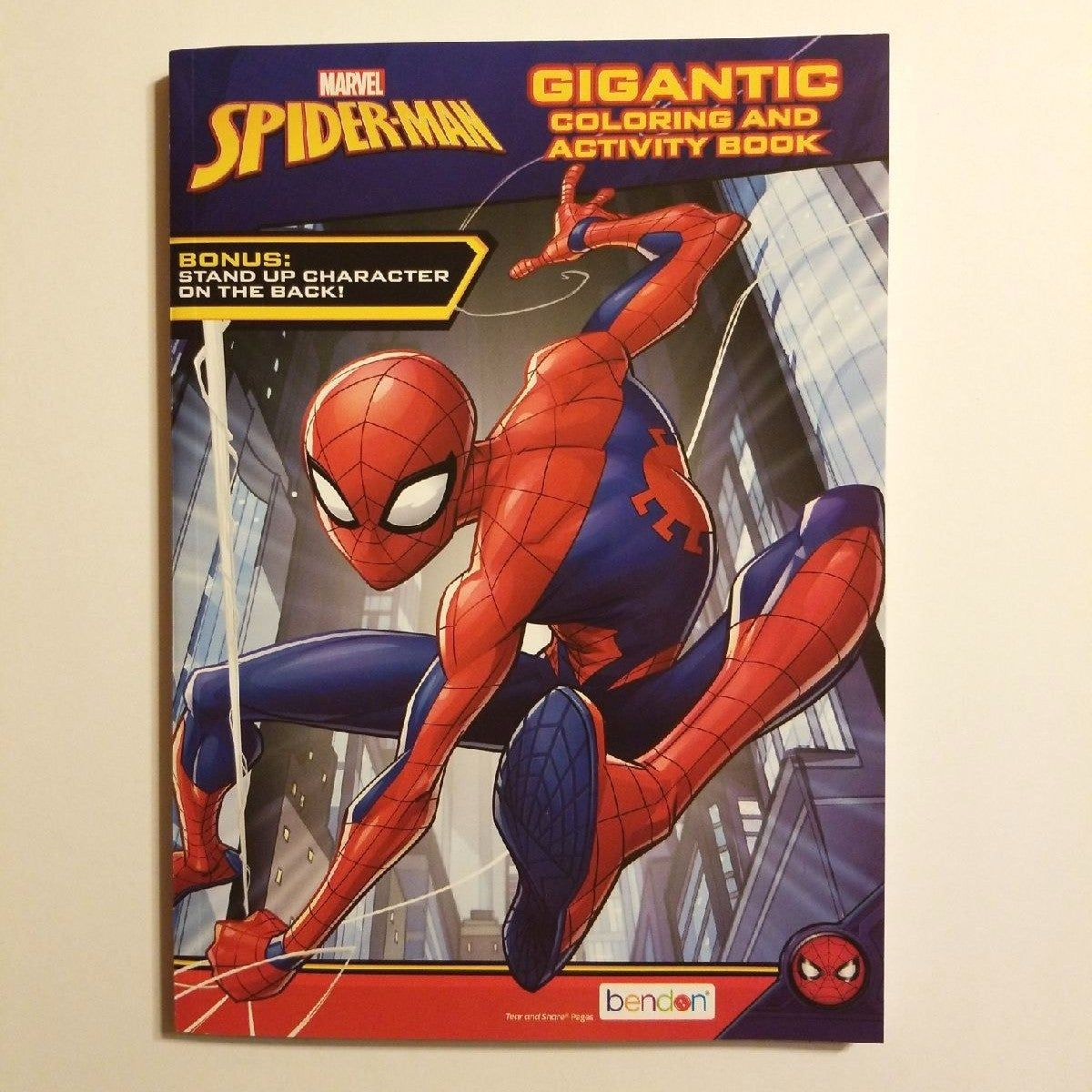 Marvel Spiderman 96 Page Coloring Activity Book This Book Has 96 Double Sided Pages There Are Coloring And Activit Book Activities Spiderman Color Activities