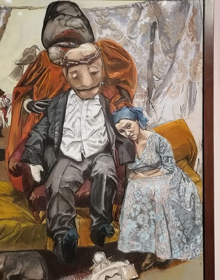 Pin De Mateo Reyes En Paula Rego Exposiciones Museos Pinturas