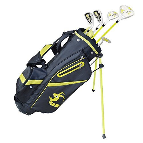 Uk Golf Gear Woodworm Zoom V2 Junior Clubs And Bag Package Right Hand Sets