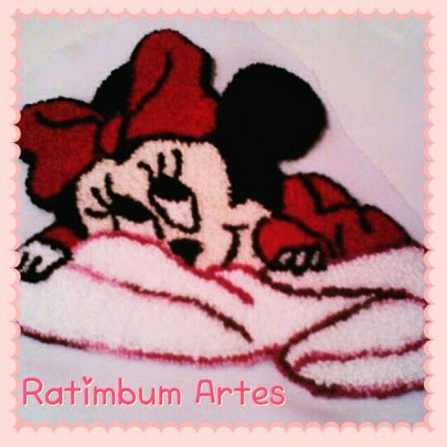 Ratimbumartes.blogspot.com.br #minnie #pontorusso #bebe #children #disney