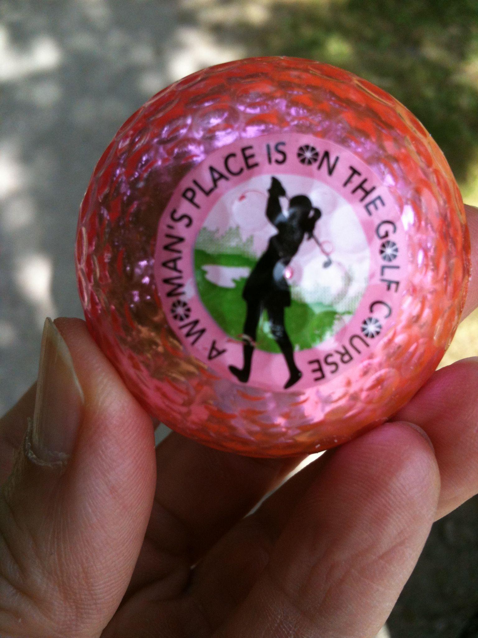Live Love Golf Metallic Pink Golf Balls by Navika Id love a dozen b66279f2c00